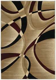 United Weavers 510 21334 Area Rug 5 ft 3x7 ft 6 La-Chic Burg