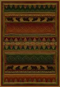 United Weavers 530 32943 Rug 5 ft 3 x 7 ft 6 Bearwalk