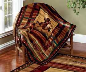 United Weavers 820-53519 Throw Rawhide