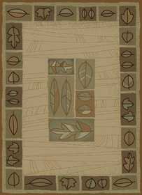 United Weavers 550 27897 Rug 5 ft 3 x 7 ft 6 Chestnut Wind Linen