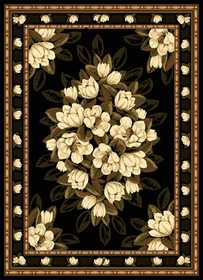 United Weavers 550 31570 Rug 5 ft 3 x 7 ft 2 Sugar Magnolia Black