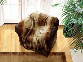 United Weavers 820 27019 Throw 50x60 in Silkwood Natural