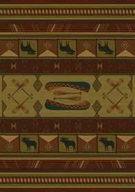 United Weavers 530 51843 Area Rug 1 ft 10x3 ft Rivercross Lodge