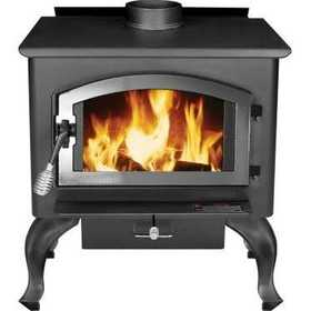 United States Stove Co 2500 United States Stove Wood Stove With Blower, Large, Epa Certified