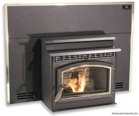 United States Stove Co SP23I Breckwell Sonora Sp23i Insert Pellet Stove, Logs, Blower, Digital Control
