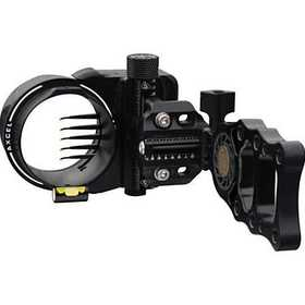 T.R.U. Ball Release AXAT-D519-BK Axcel Sights And Scopes Armortech 5-Pin Bow Sight, Black # Axat-D519-Bk