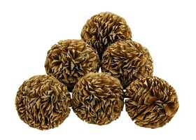Uma Enterprises Inc. 37217 Natural Decorative Balls Set of 6