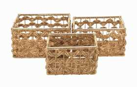 Uma Enterprises Inc. 41152 Seagrass Woven Basket 17 in Medium