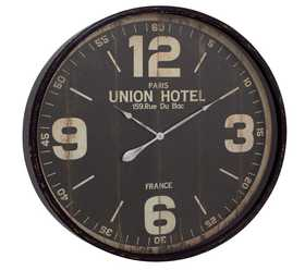 Uma Enterprises Inc. 52128 Metal Wall Clock 35 in