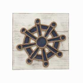 Uma Enterprises Inc. 56879 Wood and Rope Wall Decor 20X20