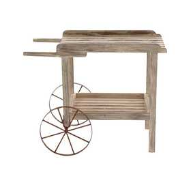 Uma Enterprises Inc. 58504 Wood and Metal Handcart 36X29