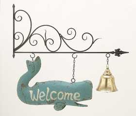 Uma Enterprises Inc. 87985 Metal Welcome Wall Sign 39X35