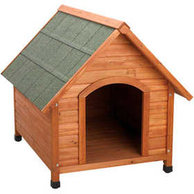 Ware Mfg. 1707 Premium+ A-Frame Dog House Large