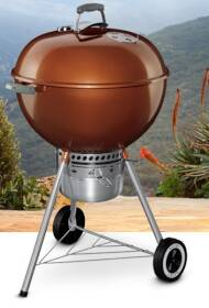 Weber Grill 14402001 Weber Original Kettle Premium 22 in Copper Charcoal Grill