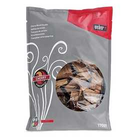 Weber Grill 17007 Weber Firespice Cherry Wood Chunks 5 Lb Bag 360 Cu. In.
