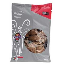 Weber Grill 17106 Weber Firespice Mesquite Wood Chunks 5 Lb Bag 360 cu. in.