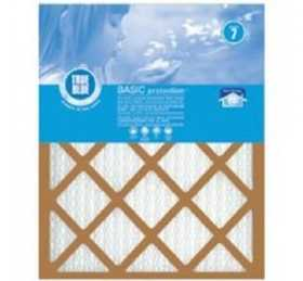 Protect Plus Air 214301 True Blue Basic Pleated Air Filter Merv 7 14x30x1