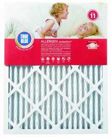 Protect Plus Air 316251 True Blue Allergen Pleated Filter Air Filter Merv 11 16x25x1