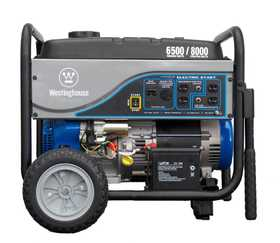 Westpro Power Systems WH6500E 6500w Rated Generator With Electric Start