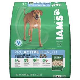 IAMS IAMS70072 Adult Large Breed Dry Dog Food, 30lb