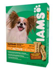 IAMS IAMS19124 Proactive Health Adult Dog Small Biscuits