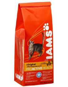IAMS IAMS10504 Healthy Adult Original Dry Cat Food With Chicken, 4lb