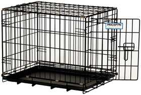 Precision Pet Products PPP112511243 One Door Black Dog Crate 3000, 30 in X 19 in X 22 in