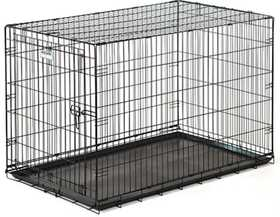 Precision Pet Products PPP112511244 One Door Black Dog Crate 4000, 36 in X 23 in X 26 in