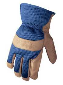 Wells Lamont 858M Glove Grain Pigskin Leather Palm Medium