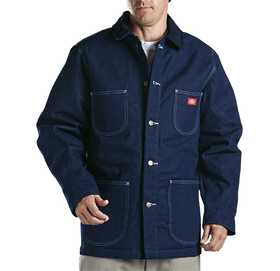 Dickies 3494NB Denim Blanket Lined Chore Coat M