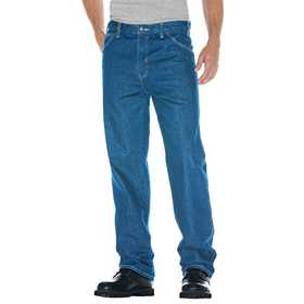 Dickies 13-293SNB Relaxed Straight Fit 5-Pocket Denim Jean 32x32