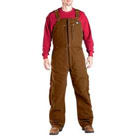 Dickies TB246BD Sanded Duck Insulated Bib Overall Xlr