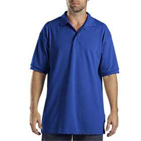 Dickies KS5552RB Adult Sized Short Sleeve Pique Polo Shirt M