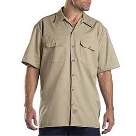Dickies 1574KH Khaki Work Shirt M