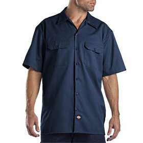 Dickies 1574NV Navy Work Shirt M