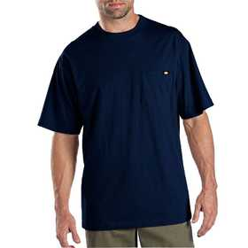 Dickies 1144624DN Dark Navy Pocket Tee 2pack Xl
