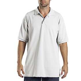 Dickies KS5552WH Adult Sized Short Sleeve Pique Polo Shirt L