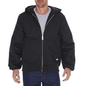 Dickies TJ718BK Rigid Duck Hooded Jacket Mr