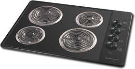 Frigidaire FEC30C4AB 30 in Black Electric Cooktop