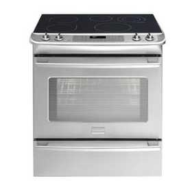 Frigidaire FPES3085KF Professional 30 in Slide In Electric Range