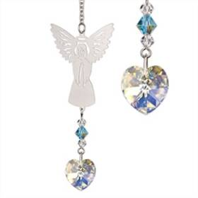 Woodstock Percussion BAMR Birthstone Angel Crystal Suncatcher March