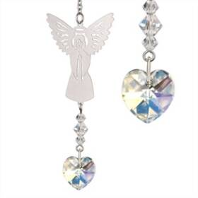 Woodstock Percussion BAAP Birthstone Angel Crystal Suncatcher April