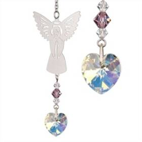Woodstock Percussion BAJN Birthstone Angel Crystal Suncatcher June