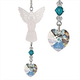 Woodstock Percussion BADE Birthstone Angel Crystal Suncatcher December