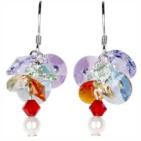 Woodstock Percussion GACE Garden Reflections Chakra Flower Earrings