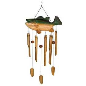 Woodstock Percussion CBS336 Animal Bamboo Chime - Bass Fish