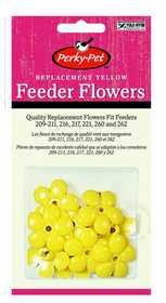Perky Pet 202F Feeder Yellow Flowers Replacement 9pk