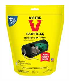 Victor M920 Fast-Kill Refillable Bait Station