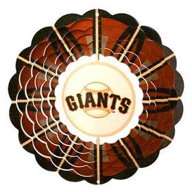 Iron Stop MLB265W-10 San Francisco Giants™ 10 in Wind Spinner