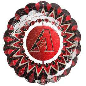 Iron Stop MLB200W-10 Arizona Diamondbacks™ 10 in Wind Spinner